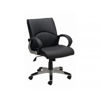 Cadeira de Direcção com Encosto Médio Q-Connect