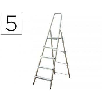 Escada de Alumínio com 5 Degraus Q-Connect