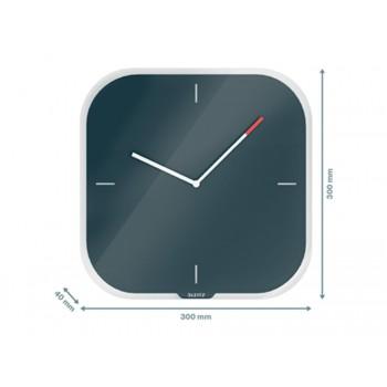 Relógio de Parede em Vidro Leitz Cosy Cinza