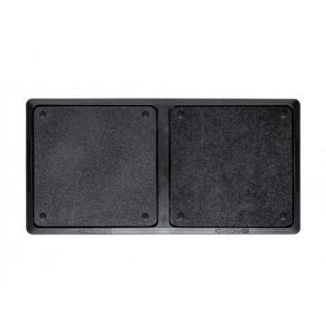 Tapete Desinfectante Bicompartimental Desinfecção / Secagem 80x40 cm