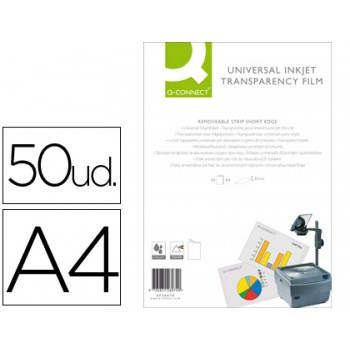 Transparências A4 para Impressora inkjet 50 Folhas