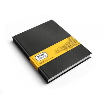 Caderno Gráfico 165X220mm 160gr 48 Folhas Preto Liso