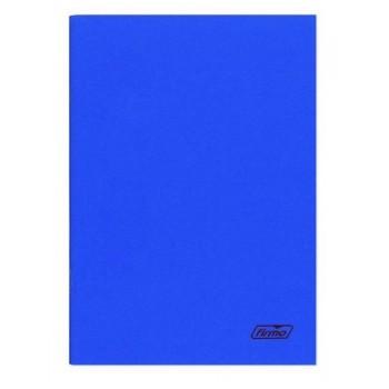 Caderno A4 60 Folhas Agrafado  Xadrez Azul Spring