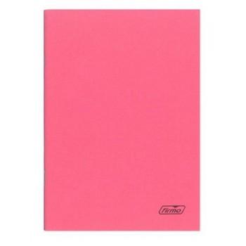 Caderno A4 60 Folhas Agrafado Pautado Rosa Spring