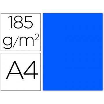 Cartolina A4 185Grs Azul Mar 50 Unidades