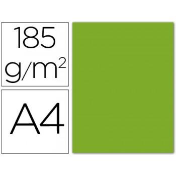 Cartolina A4 185Grs Verde Maça 50 Unidades