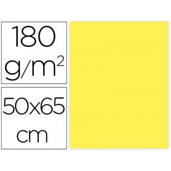 Cartolina 50X65cm 180Grs Amarela