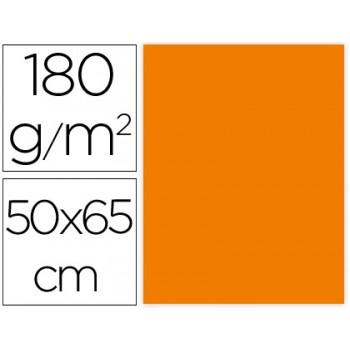 Cartolina 50X65cm 180Grs Laranja