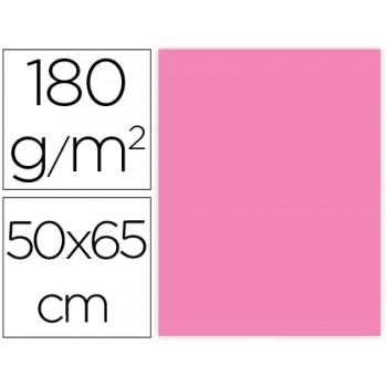 Cartolina 50X65cm 180Grs Rosa 25 Unidades
