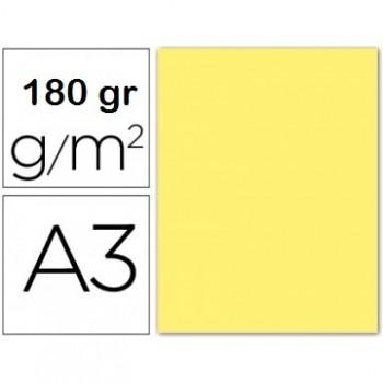 Cartolina A3 180Grs Amarelo 100 Unidades