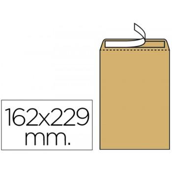 Envelope 162x229mm Saco Tira Silicone Kraft C5 500 Unidades