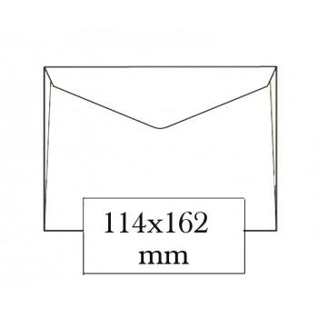 Envelope 114x162mm Branco C6 Pala Bico Caixa 500 Unidades