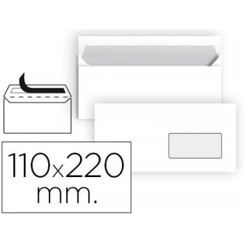 Envelope 110x220mm Branco DL Com Janela 90grs Caixa 500 Unidades