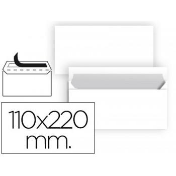 Envelope 110x220mm Branco 90grs DL 50 Unidades Sem Janela