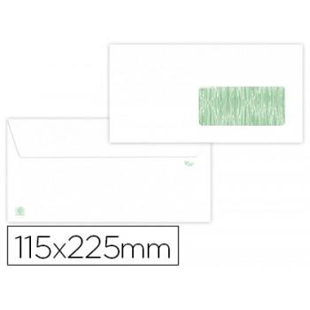Envelope 115x225mm Reciclado 90grs 500 Unidades Com Janela