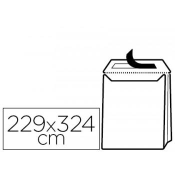 Envelope 229x324x30mm Saco Com Fole Kraft Silicone 120Gr 50 Unidades
