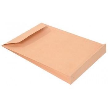 Envelope 229x324x38mm Saco Com Fole C4 Kraft Silicone 120Gr 200 Unidades
