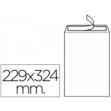 Envelope 229x324mm C4 Saco Branco Sem janela Caixa 250 Unidades