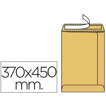 Envelope 370x450mm Tira de Silicone Kraft Pack 100 Unidades