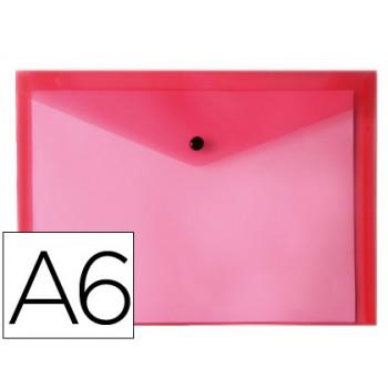 Envelope Plástico A6 com Mola Vermelha