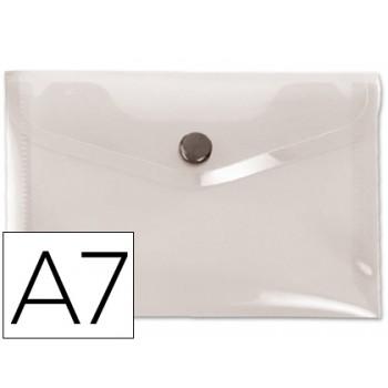 Envelope Plástico A7 com Mola Transparente