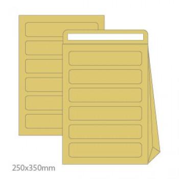 Envelope 250x350x60mm Correio Interno Com Furos Kraft 250 unidades