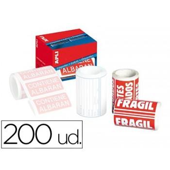 Etiquetas Frágil 50x100mm Rolo Com 200 Unidades Apli