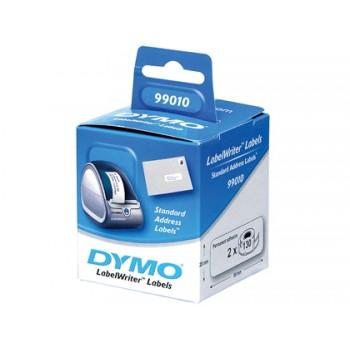 Etiqueta Dymo SO722370 89X28mm Moradas