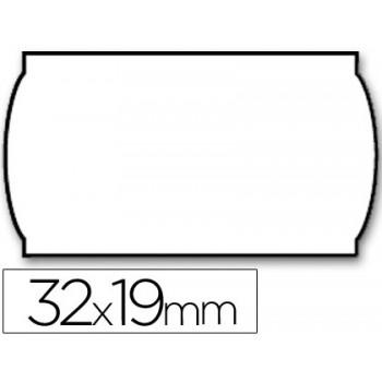Etiquetas de Rolo 32x19mm Com 1000 Removível Ondulada Branca Meto