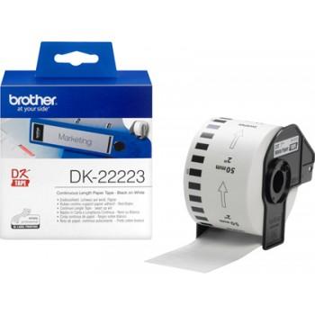 Etiqueta Brother DK-22223 Continua Branco 50mmx30,48m