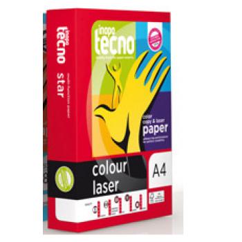 Papel Cópia 200gr A4 Copy Tecno Color Lazer Brilhante 250 Folhas