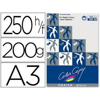 Papel Cópia 200gr A3 Copy Color Brilhante 250 Folhas
