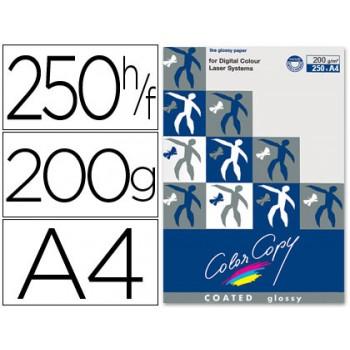 Papel Cópia 200gr A4 Copy Color Brilhante 250 Folhas