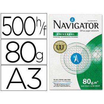 Papel Cópia Branco 80grs A3 Navigator - 1 Resma