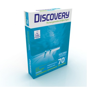 Papel Copia 70grs A4 Discovery 1 Resma