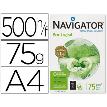 Papel Cópia 75grs A4 Navigator Eco-Logical (5 resmas)