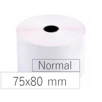 Rolo Papel 75x80x11 Branco 10 Unidades