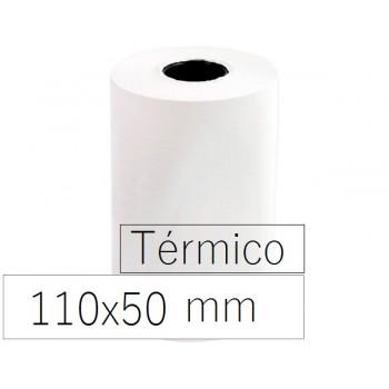 Rolo Papel Térmico 110x50x11 Branco 10 Unidades