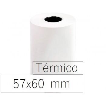 Rolo Papel Térmico 57x60x11 Branco 10 Unidades