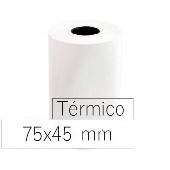 Rolo Papel Térmico 75x45x11 Branco 10 Unidades
