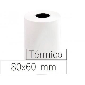 Rolo Papel Térmico 80x60x11 Branco 10 Unidades