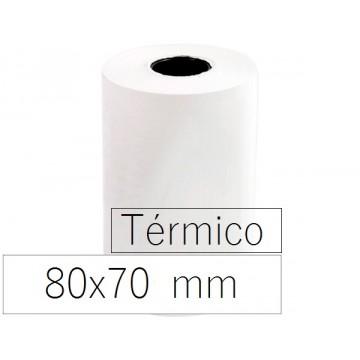 Rolo Papel Térmico 80x70x11 Branco 10 Unidades