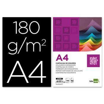 Cartolina A4 180Grs Preta 100 Unidades