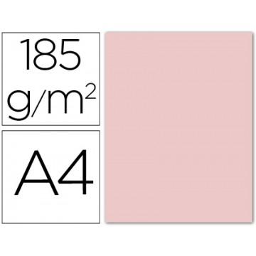 Cartolina A4 185Grs Rosa 50 Unidades