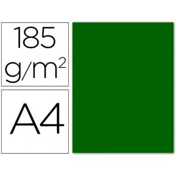 Cartolina A4 185Grs Verde Bilhar 50 Unidades