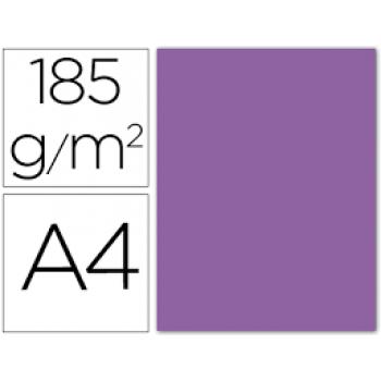 Cartolina A4 185Grs Violeta 50 Unidades