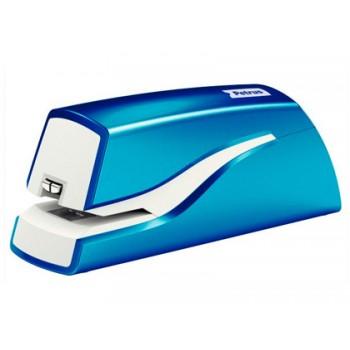 Agrafador Eléctrico 12 Folhas Petrus Azul Metalizado