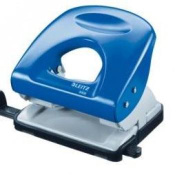 Furador 30 folhas Leitz 5008 2.5mm Com Régua Azul