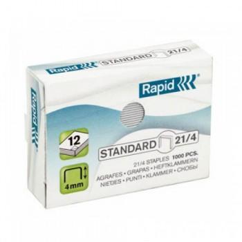 Agrafos  Nº25 (21/4mm) caixa com 1000 Rapid
