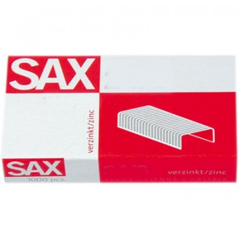 Agrafos 6/35mm Caixa com 1000 Sax